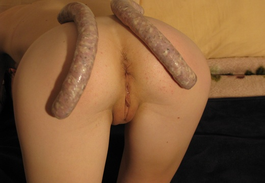 Tl - Im a little Sausage Slut !